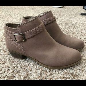 Shoes - Brown Suede Booties